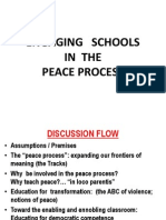 CEAP Engaging Schools in the Peace Process