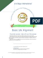 Basic Life Alignment - Avatar (Star's Edge International)