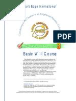 Basic Will Course - Avatar (Star's Edge International)