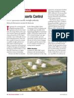 LNG FERC ASSERTS CONTROL