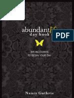 84555163 Abundant Life Day Book