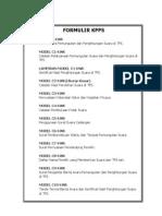 Formulir Kpps & Pps