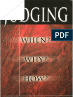 85859503 Judging When Why How by Derek Prince
