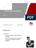 NGN Fault Analysis SoftX3000