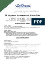 Zwia09 Napoli 18-21febbraio Programma It[1]