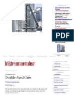 double reed care
