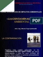 1. La contaminación ambiental