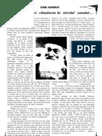PĂRINTELE IUSTIN PÂRVU - Alegem oameni rămânem oameni (Revista Glasul Monahilor)