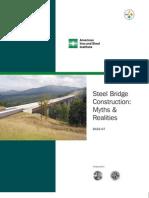 Steel Bridge Construction Myths and Realities