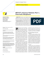 pet ct evaluation of pancreatic neoplasms