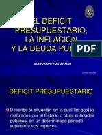 DEFICIT PRESUPUESTARIO, DEUDA PUBLICA.pptx