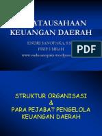 Presentasi Referrensi - Penatausahaan Keuangan Daerah