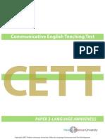 2007 Cett Paper 2 Language-Awareness (2)