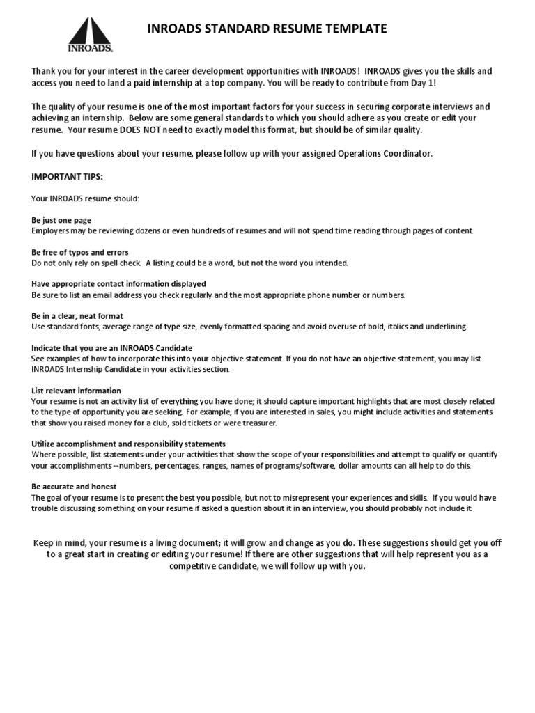 Resume Sample With Work History Resume Internship
