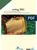 Multielectrode Array (MEA) proceedings 2012