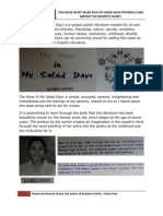 The Muse In My Salad Days by Gargi Saha Enthralls and Amuses the Reader's Heart