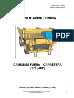 Manual Del Estudiante Camion 777 F - FINNING