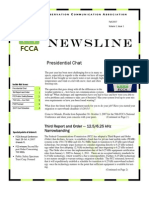 FCCA Fall 2007 Newsletter