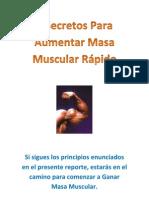 7 Secretos Para Aumentar Masa Muscular Rapido