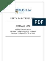 Part A Bar