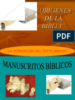 Orígenes de la Biblia (63 ppt)