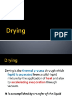 principle and mechanism of drying