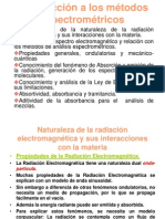 Propiedades de la Radiación electromagnética