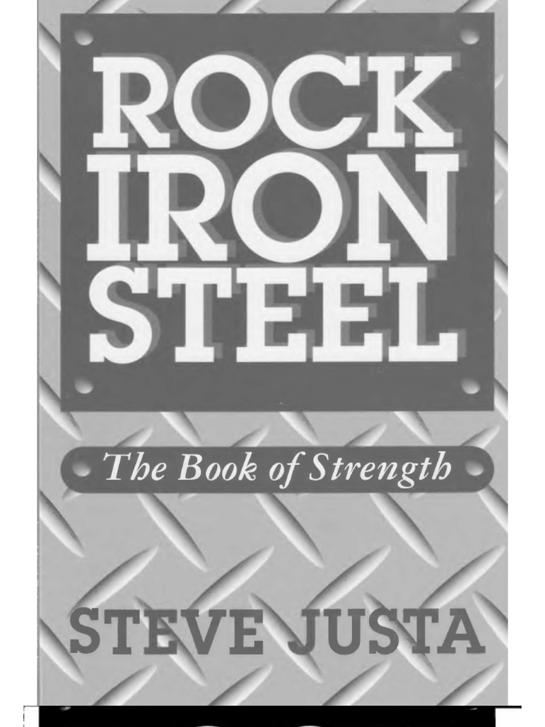 Steve Justa Rock Iron Steel Ebook