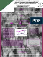 Estudio de la actividad catalítica de sólidos mesoporosos del tipo HPW/SBA-15 en la reacción de alquilación de Tolueno con 1-dodeceno para la formación de alquilbencenos lineales