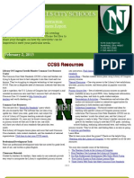 February Curriculum Aligned to Technology Newsletter