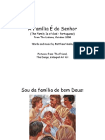 The Family is of God - Portuguese