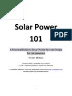 Solar Power-101