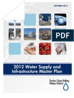 Water Infrastructure Master Plan--Santa Clara County