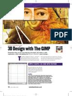 3D Design With The GIMP