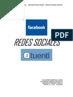 Redes Sociales (Facebook y Tuenti)