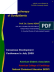 Pharmacotherapy of Dyslipidemia by Dr Sarma