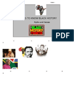 Getting to Know Black History Correction