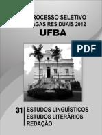 Caderno31.PDF Prova Ufba Letras
