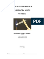 Fundamentals of Chemistry workbook