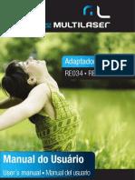 Manual - Adaptador Wireless Multilaser