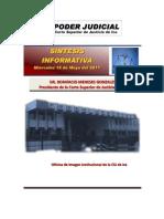 Sintesis Informativa Del 18 de Mayo Del 2011[1]