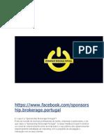 Sponsorship Brokerage