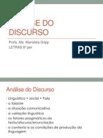 Análise do Discurso 3