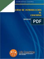 Manual Introducción al Coaching 3ed