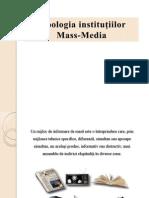 Tipologia instituţiilor Mass Media