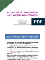 Proteccion del Consumidor en el Comercio Electrónico