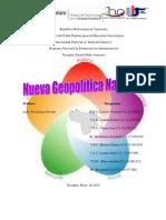 Trabajo Nueva Geopolitica Nacional II