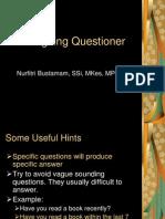 Designing Questioner