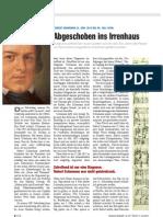 Peters, Uwe Henrik   Schumann, Abgeschoben in Irrenhaus