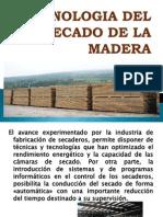 Tecnologia Del Secado de La Madera